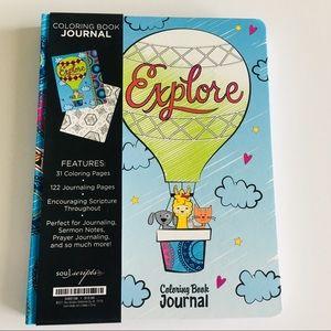 Other - Hardback Soul Scripts Coloring Book Journal